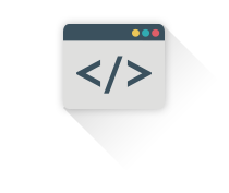 Icon Features Code - Iukanet - Inicio