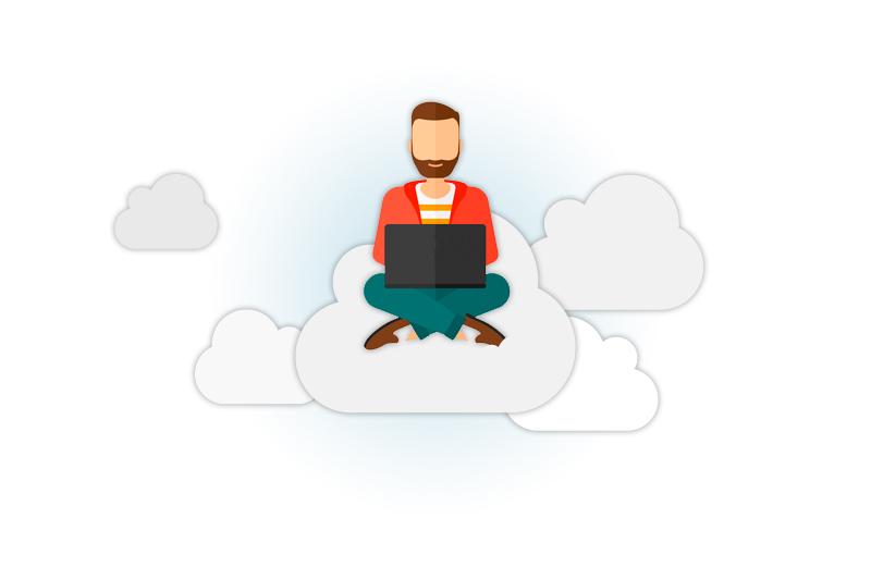 Sitting Cloud - Iukanet